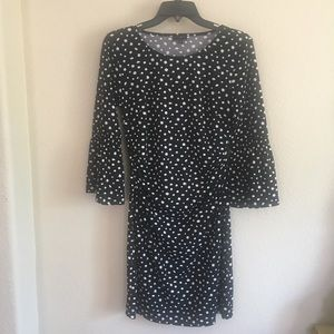 TALBOTS Designer Dress Size PM Black/white